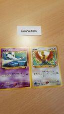 Japanese Promo - Lugia & Ho-Oh - No.249/No.250 - Pokemon - Neo 2