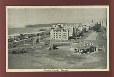 South Africa DURBAN Marine Parade early PPC by Continental Film Studio