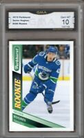 GMA 10 Gem Mint QUINN HUGHES 2019/20 PARKHURST ROOKIE Card #275 CANUCKS U-M!