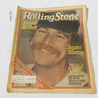 JIMMY BUFFETT ROLLING STONE MAGAZINE ISSUE 301 DAVID BOWIE SUSAN SONTAG 1979