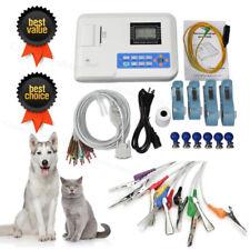 Veterinary Digital single channel  ECG machine Electrocardiograph EKG Monitor