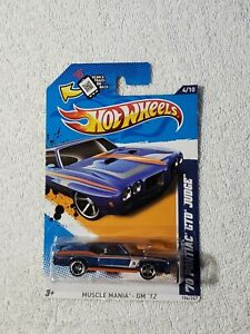 2012 HOT WHEELS MUSCLE MANIA 70 PONTIAC GTO JUDGE