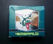 Pokemon Booster Box Eng Ex Emerald VUOTO - EMPTY