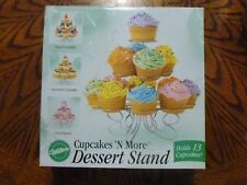 Wilton Cupcakes N' More Dessert Stand Party Display Metal Holds 13 Cupcakes EUC
