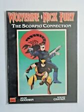Wolverine Nick Fury The Scorpio Connection #1 GN Graphic Novel 6.0 FN (1990)