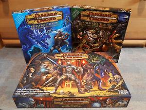 Dungeons and Dragons Brettspiel (inkl. beiden Erweiterungen, Hero Quest ähnlich)