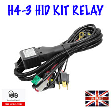 NEW CANBUS H4 HID KIT RELAY HARNESS H4-3 HI/LOW BI XENON HID KIT