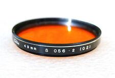 49mm Toshiba 056 (O2) ORANGE Contrast Filter - NEW