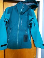 NWT- The North Face Summit L5 GoreTex Shell Jacket -Womens -Medium- Conifer Teal