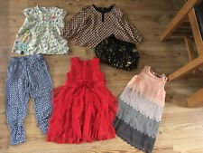 GIRLS CLOTHES BUNDLE 5-6 YEARS DRESS SKIRT TROUSERS TOPS VGC