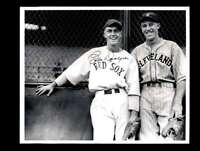 Babe Dahlgren JSA Coa Signed 8x10 Vintage Red Sox Photo Autograph