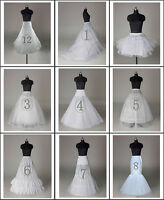 NEW Wedding Petticoat/Bridal Hoop Hoopless Crinoline/Prom Underskirt/Fancy Skirt