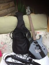 Yamaha electric guitar EG112C  in the bag amazing condition ibanez strap /lead