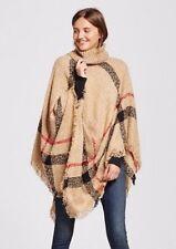 Women's Poncho Turtleneck - Sylvia Alexander  * US Seller Free Shipping