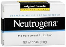 Neutrogena Facial Bar Fragrance Free 3.50 oz (Pack of 9)