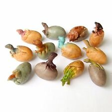 12 pcs Dinosaur Egg with Baby Miniature Figurine Jurassic Action Figure Toy Gift