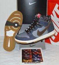 New Nike Dunk CMFT Denim/Track Brown Sail Stars sz 8.5 Rare