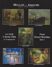Catalogue Atelier Antoine Le Roux Eugene Guyard Andrey Prevost Andre Duret