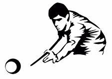 Snooker Player Car Decal / Sticker
