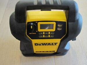Car Jump Starter Battery Charger Jumper Cables Portable Compressor DEWALT