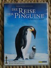 DIE REISE DER PINGUINE Dokumentarfilm Tierfilm DVD  1. Hand neuwertig Neukauf