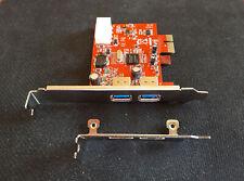 Carte PCI Express PCI-E avec 2 ports USB 3.0 - NEUF