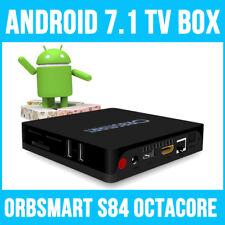 Orbsmart S84 Android 7.1 Octa-Core Mini PC / 4K Ultra HD Mediaplayer / TV Box