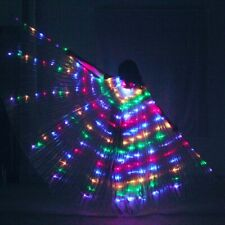 2019 LED Wings isis wings belly dance cosplay prop wings LED cloak LED pluvial