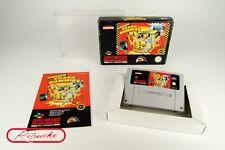 Super Nintendo *The Incredible Crash Dummies* SNES OVP, Anleitung, Schutzhülle