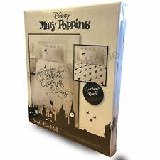 Mary Poppins Perfect Single Duvet Cover Set Reversible Kids Girls