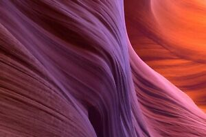 "8x12"" Antelope Canyon Abstract Print"