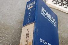 KOBELCO LK350-II FRONT END WHEEL LOADER Repair Shop Service Manual overhaul book