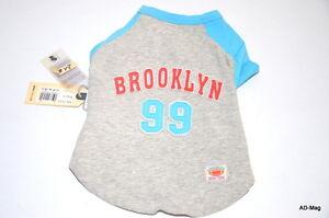 Vêtement Habit Chien - Tee-Shirt Gris Brooklin 99 - ISPET - L (30-33 cm) - NEUF