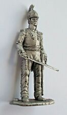 1/30 Russian Army Cuirassier Officer Napoleonic Wars Tin Metal Soldier 65mm NEW