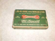 "Remington ""Dogbone"" .30-40 Krag Ammo Box empty"
