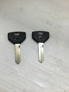 OEM Chrysler/Dodge/Jeep Key Blank Y154P (594145) - Set of 2