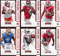 T.J. YELDON - 2015 Contenders Draft Picks GAME DAY TICKET Rookie Card - Alabama