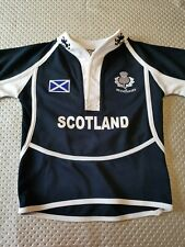 superbe maillot de rugby ECOSSE scotland  1/2 ans