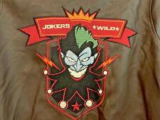 DC Comics Bombshells BOMBER JACKET 115665 Women's sz Med. JOKERS *WILD*