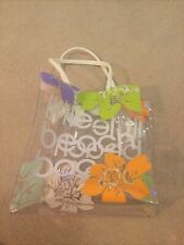 bloomingdales   collectible tote   little beach bag   BN   *see description