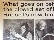 m5-1a ephemera 1970s film article ken russell the savage messiah
