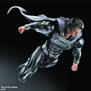 NYCC 2013 Man of Steel Superman Play Arts Kai Black Version