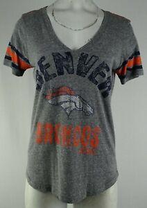 Denver Broncos NFL G-III Women's Gray T-Shirt