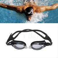 Prescription Myopia Nearsighted Swimming Training Goggles Glasses -2.0 TO -8.00