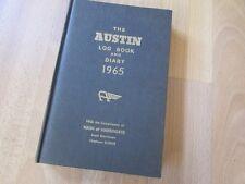 Unused the AUSTIN Hardback Log Book & Diary 1965 Issued by Nash of HARROGATE