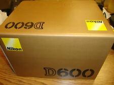 NEW! Nikon D600 DSLR Camera (Body Only), brand new in box