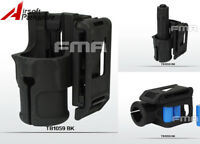 """FMA V85 Polymer Speed 1.25"""" Flashlight Holster Pouch For 2.25"""" Belt Tactical"""