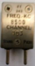 8500 KHz FT-243 Crystal  for 51.0 MHz 6 meter amateur band