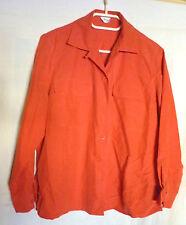 rote Bluse von Atelier goldener Schnitt Gr. 40(20)