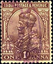 INDIA INGLESE - 1911-1926 - Effige Re Giorgio V. INDIA POSTAGE & REVENUE